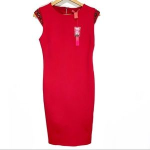NWT Catherine Catherine Melandrino Sheath Dress